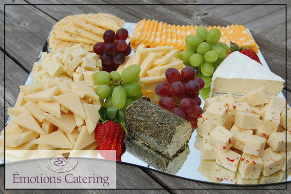 Gourmet Cheese Platter & Gourmet Cheese Platter - Emotions Catering - Cornwall Ontario Caterers