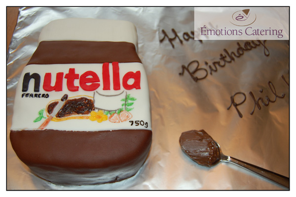 Specialty Cake - Four Layer Nutella Cake