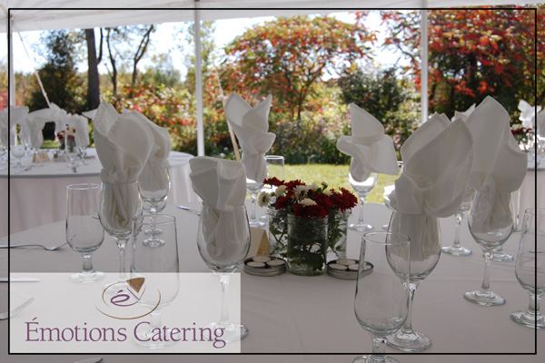 Wedding Place Setting near Martintown